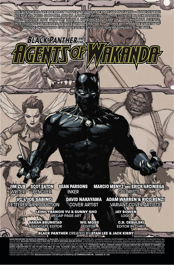 Black Panther vs. Deadpool... Again in Agents of Wakanda #5 [Preview]