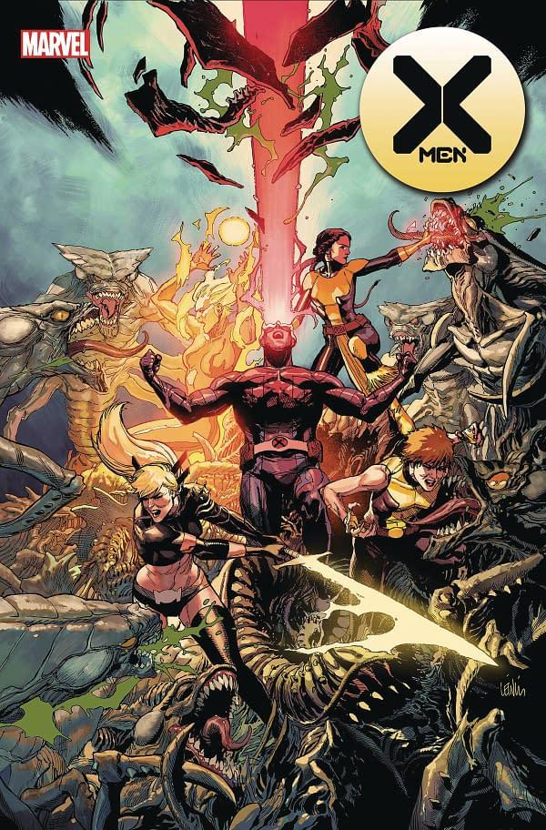 Mahmud Asrar Takes Over X-Men #8 From R.B. Silva