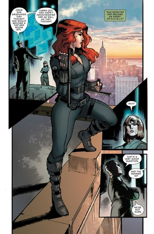 Failure To Put Two And Two Together In Marvel S Black Widow Prelude 1 Preview