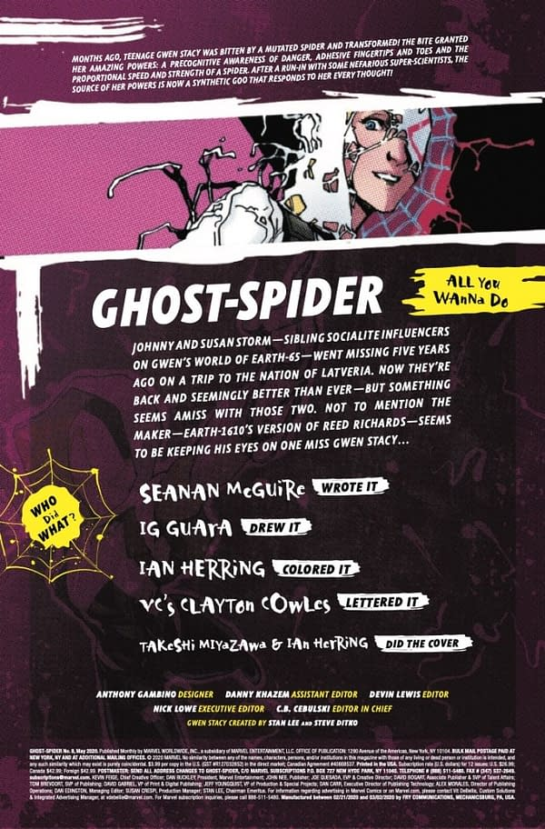 Ghost-Spider #8 [Preview]