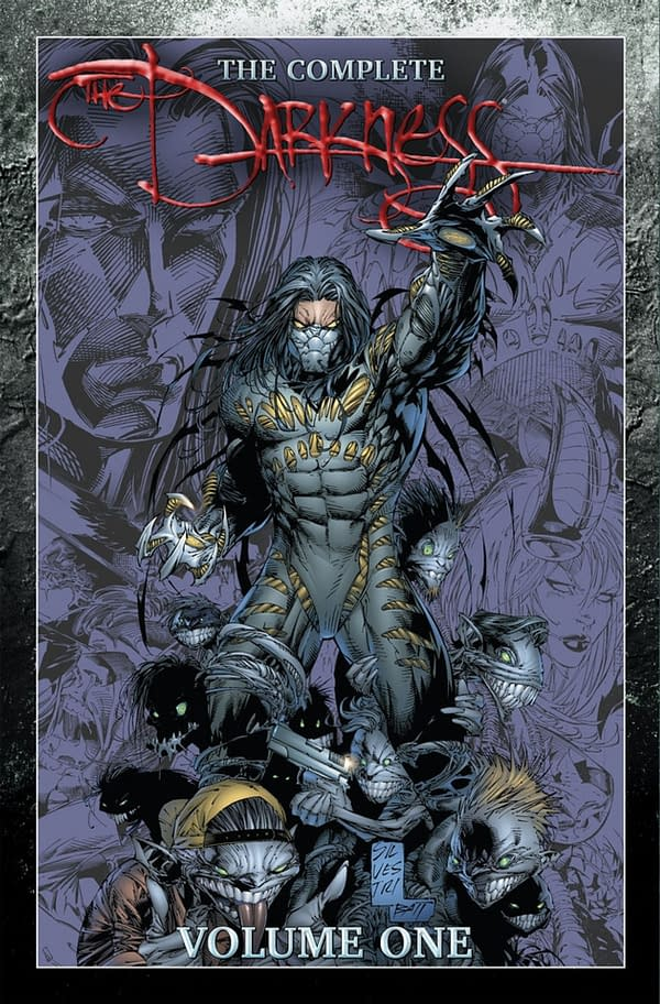 Top Cow launches The Darkness at SDCC. Credit: Top Cow's Kickstarter page.