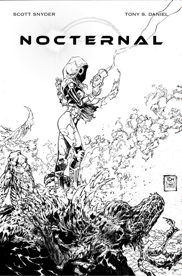 Scott Snyder, Tony Daniel Launch New Comic 'Nocternal' on Kickstarter