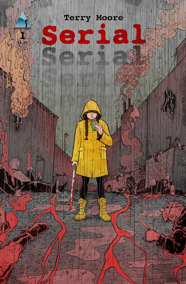 The cover to Serial #1, Terry Moore's comic focusing on Rachel Rising's Zoe. Credit: Abstract Studio