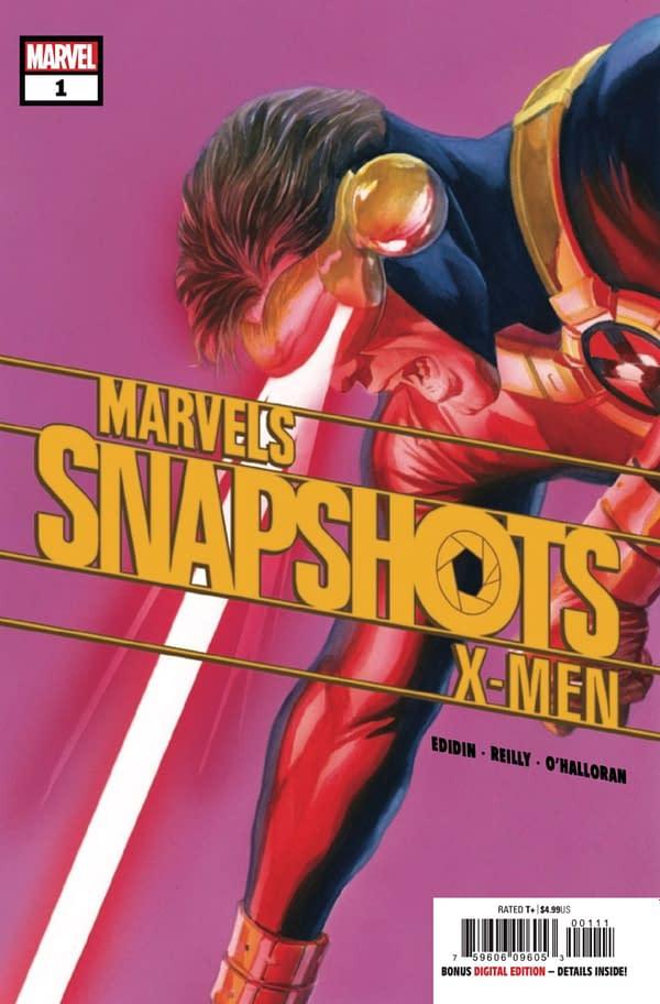 X-Men: Marvel Snapshots #1 cover. Credit: Marvel