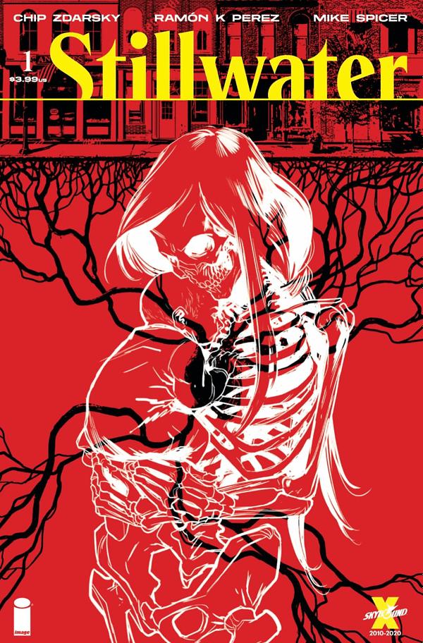 Chip Zdarsky and Ramon K. Perez's Stillwater #1 cover. Credit: Image Comics