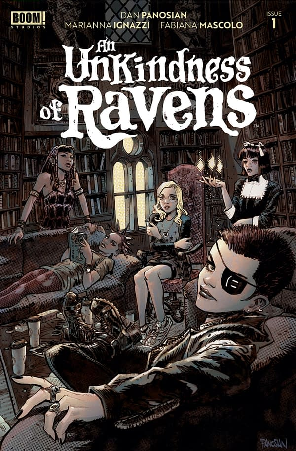 An Unkindness of Ravens #1 cover. Credit: BOOM! Studios