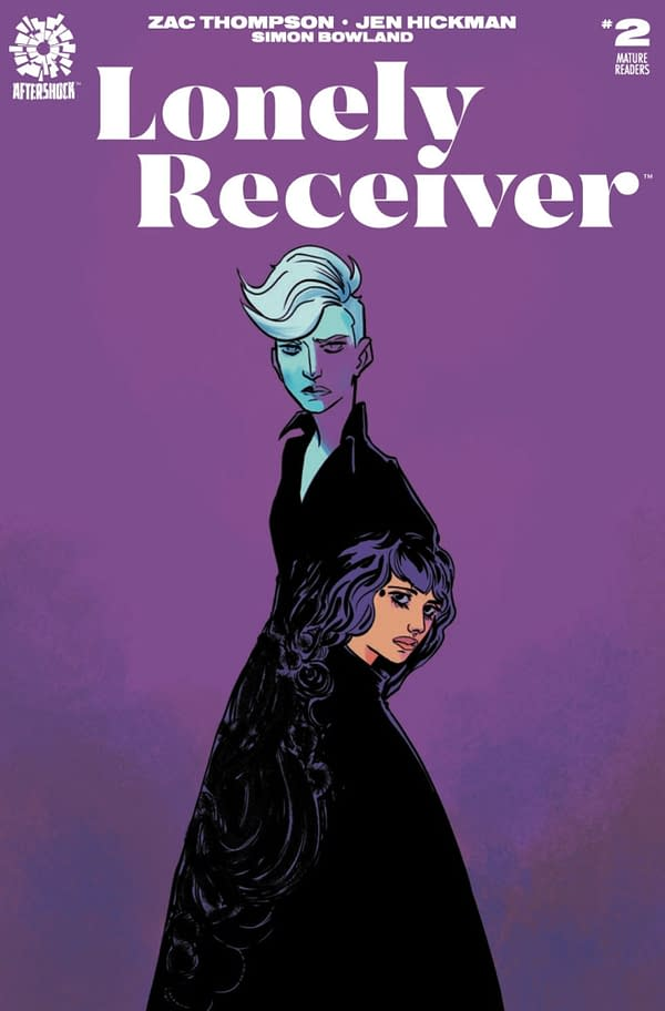 Lonely Receiver #2 cover. Credit: Aftershock Comics