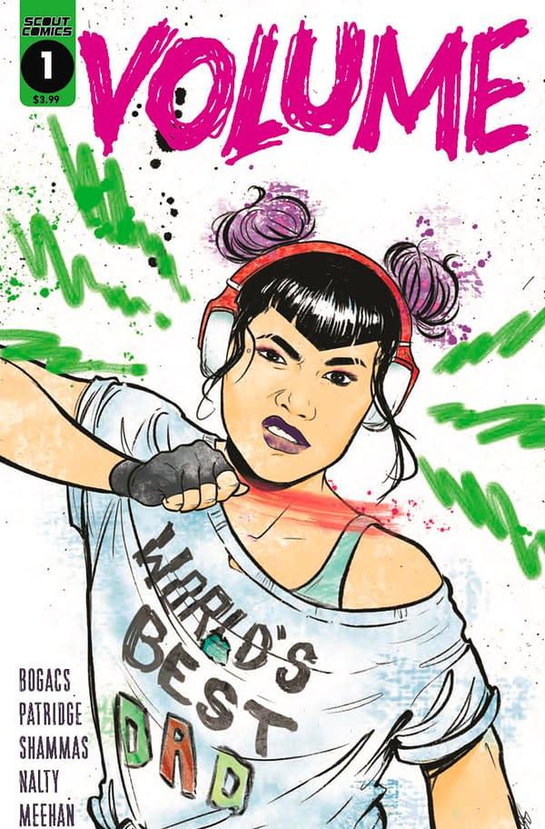 Volume #1 cover. Credit: Scout Comics