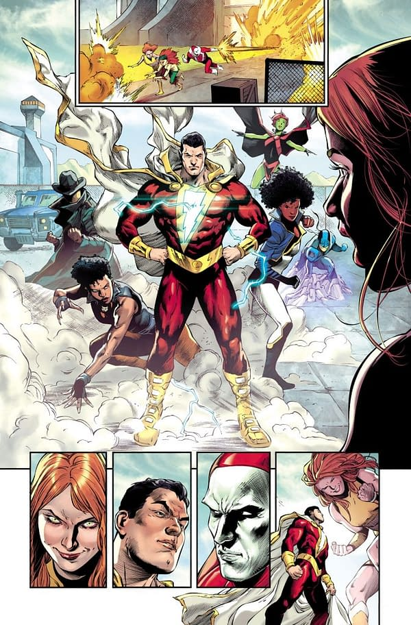 Preview: Flash, Shazam, Teen Titans Crossover For DC 5G Future State