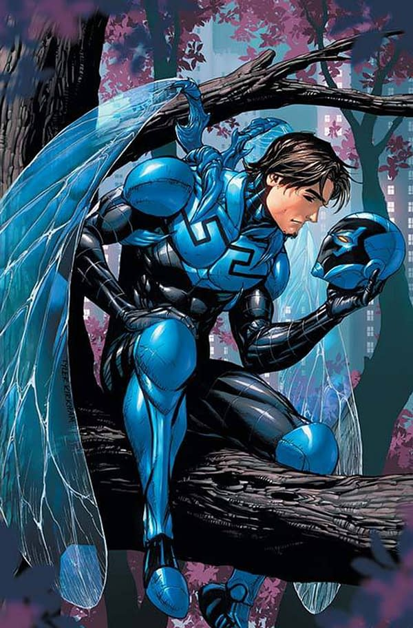 Angel Manuel Soto is Reportedly Tapped to Direct a Blue Beetle Movie