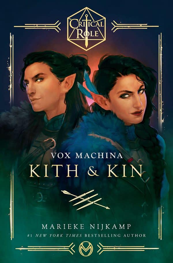 Del Rey Set To Publish Critical Role: Vox Machina – Kith & Kin