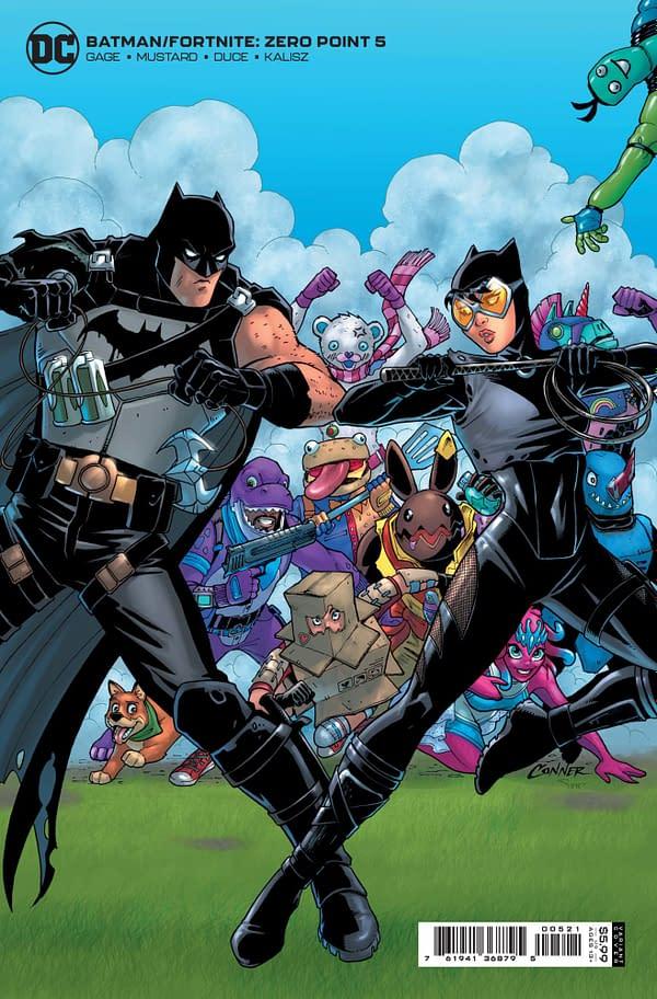 Cover image for BATMAN FORTNITE ZERO POINT #5 (OF 6) CVR B AMANDA CONNER CARD STOCK
