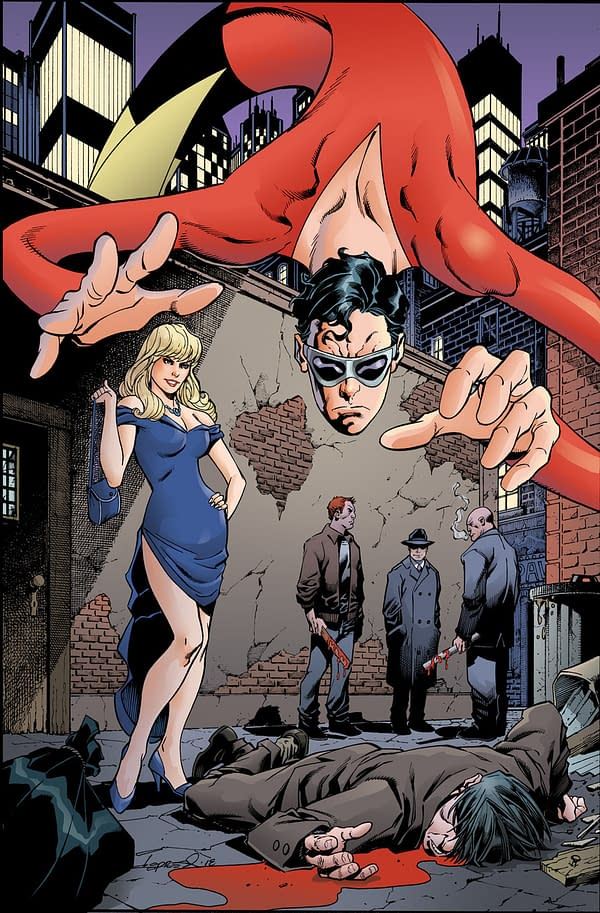 Plastic Man, a New Comic Series by Gail Simone and Adriana Melo