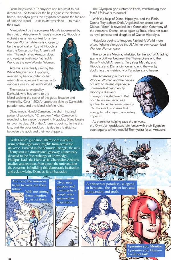 That Missing Page From the Wonder Woman By Phil Jimenez Omnibus