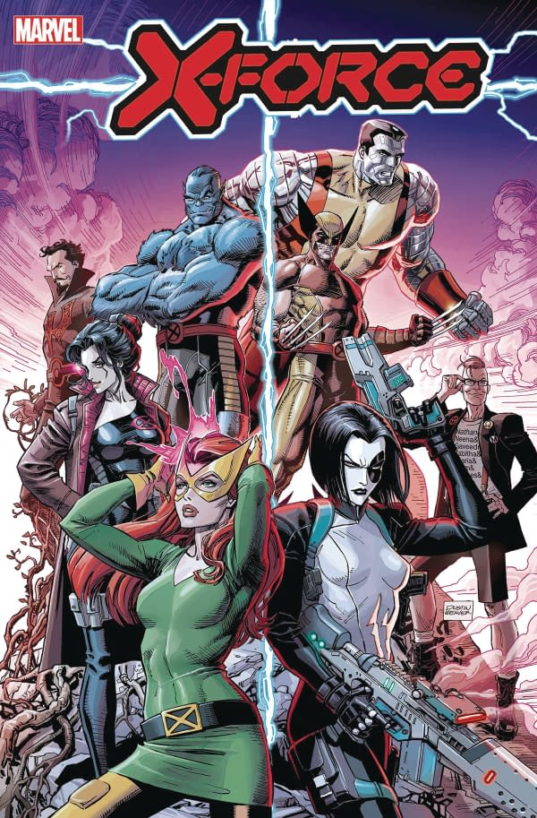 Benjamin Percy Reveals Details of X-Force in the Dawn of X