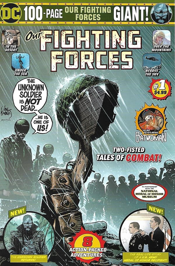 Walmart Our Fighting Forces Giant #1 Mass Market Cover.