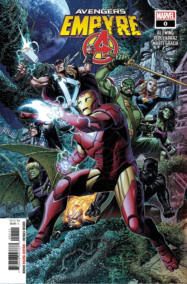 Empyre Avengers #0 Main Cover