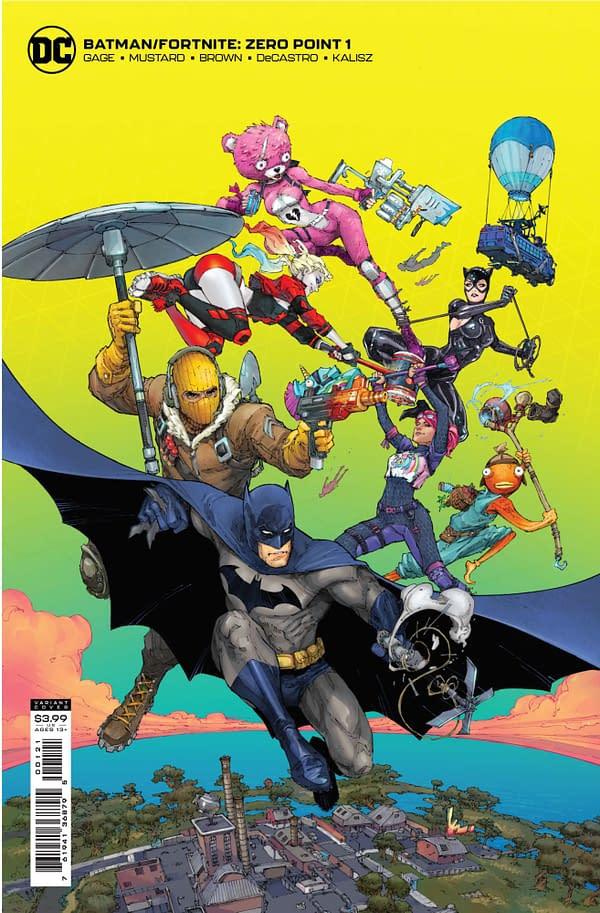 Fornite Batman Comic from DC Comics