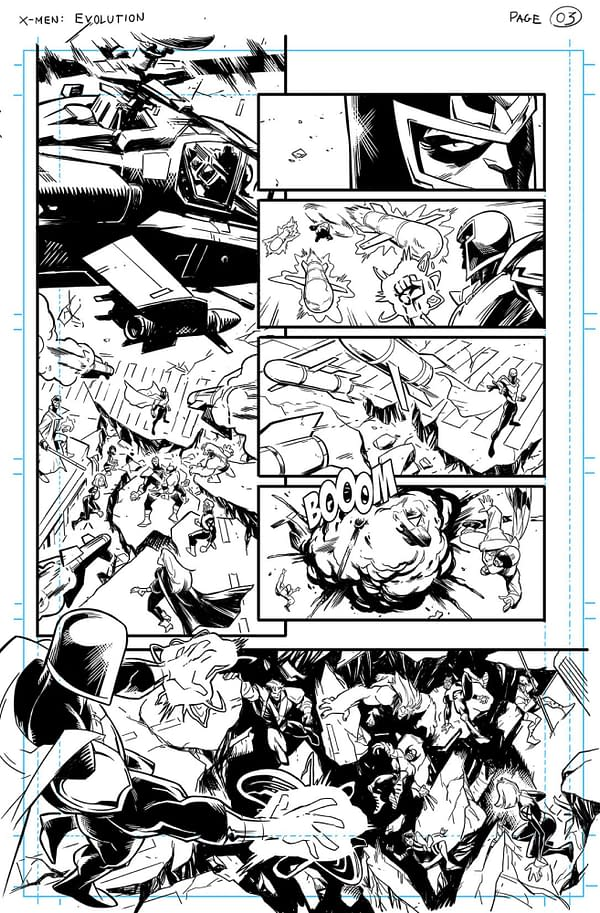 Ivan Fiorelli Finally Gets To Draw the X-Men in Marauders #23