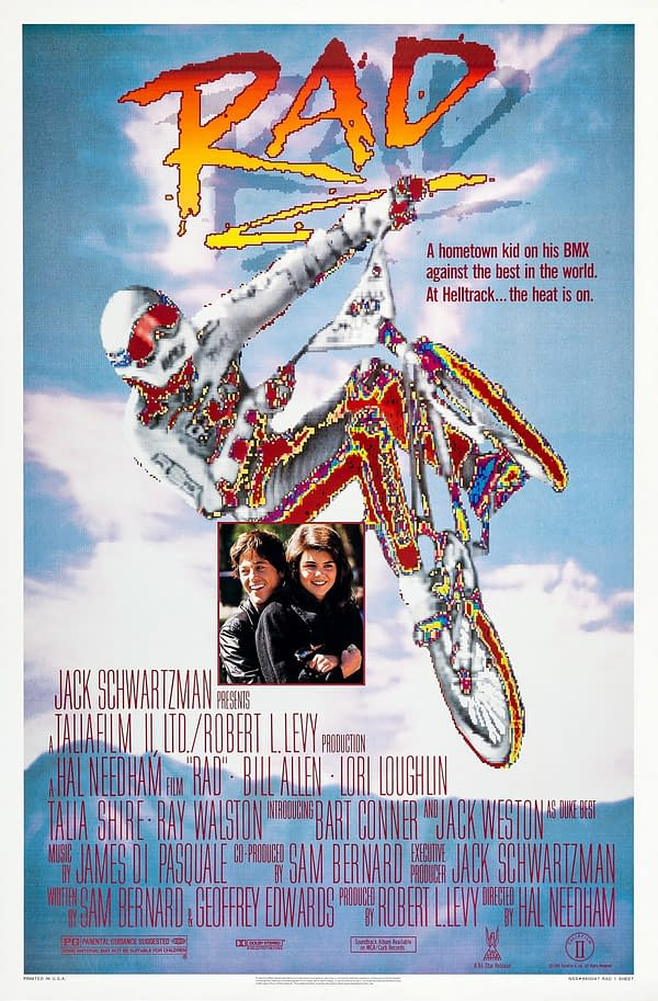 BMX 80's Classic Rad COming Back To Theaters October 14th