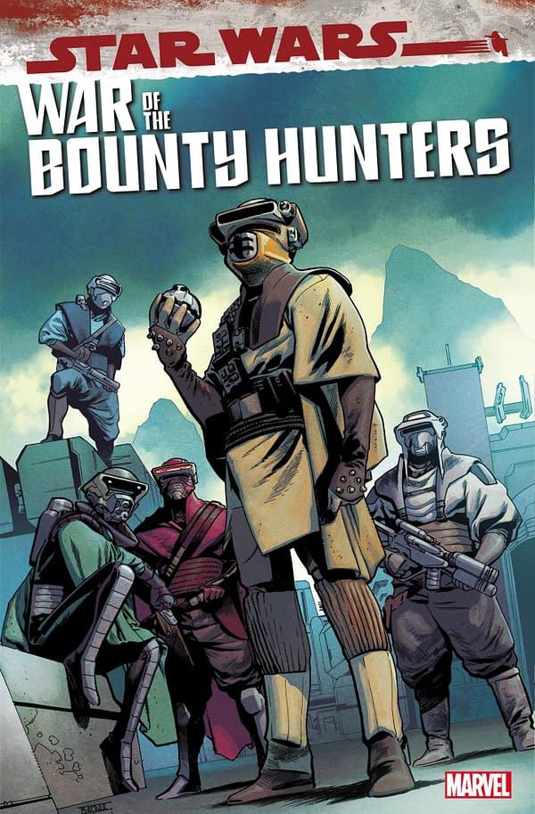 Cover image for STAR WARS WAR BOUNTY HUNTERS BOUSHH #1