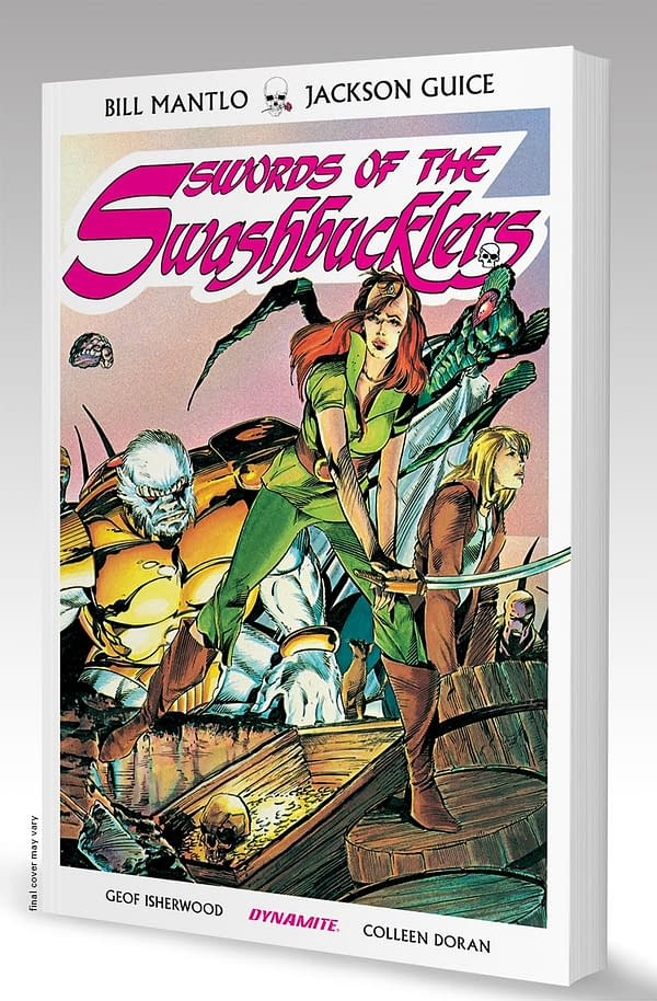 Marc Guggenheim Joins The New On-Going Swords Of The Swashbucklers