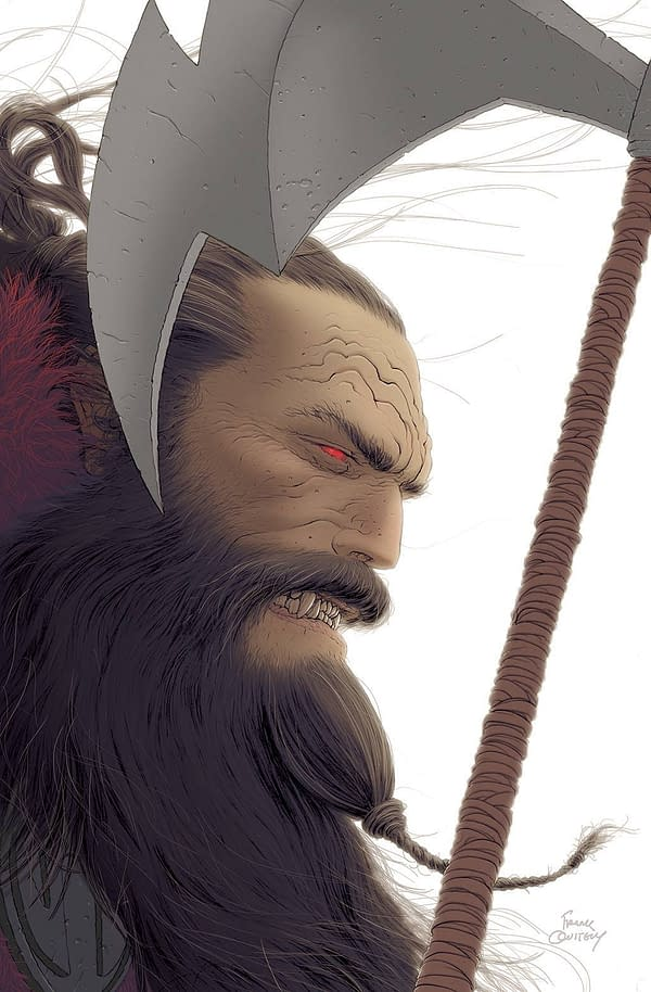Frank Quitely's Cover For Grant Morrison's Klaus And The Crisis