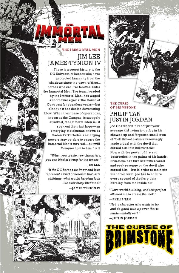 8-Page Promo for The New Age of DC Heroes – Sneak Peeks Inside