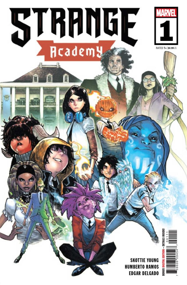 "REVIEW: Strange Academy #1 -- ""Uniting Scions Of Both 'Good' And 'Bad' Ideologies Under One Educational Roof"""