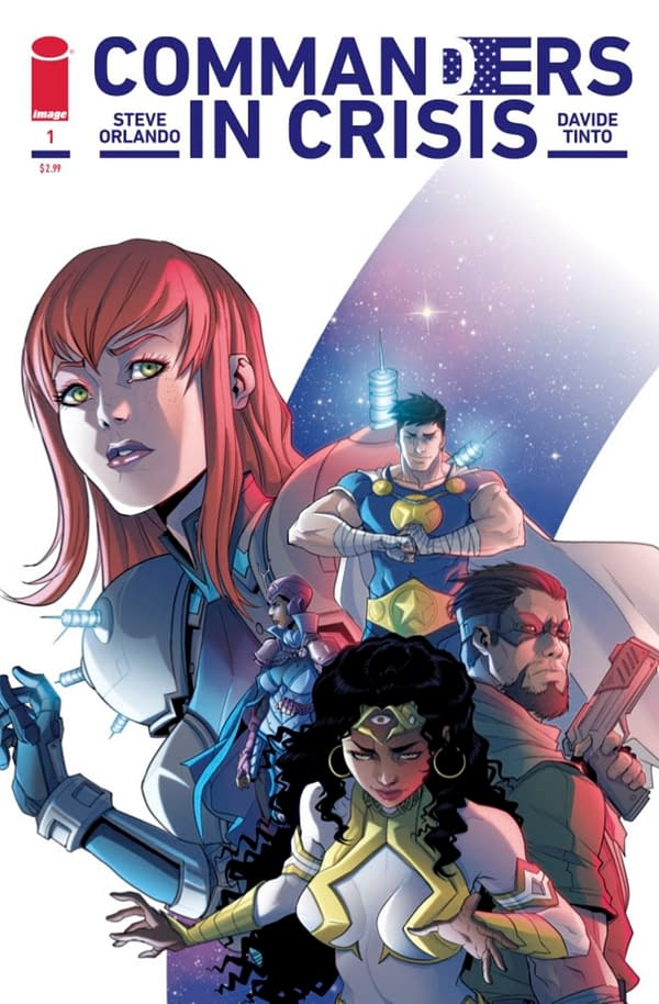 Steve Orlando and David Tinto Create Commanders In Crisis From Image Comics.