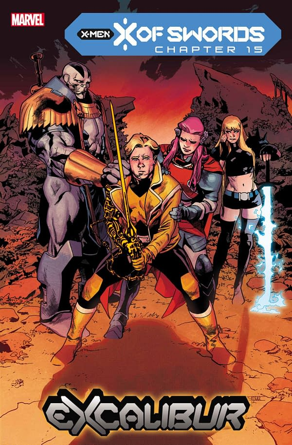 Marvel's X Of Swords Ends In Destruction- November 2020 Solicitations
