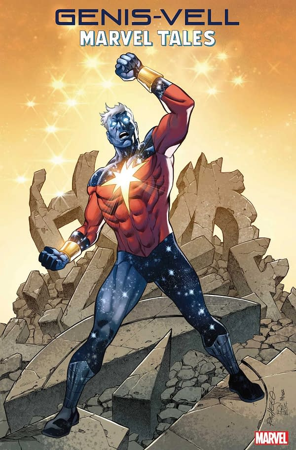 The cover to Genis-Vell: Marvel Tales #1 by Carlos Pacheco