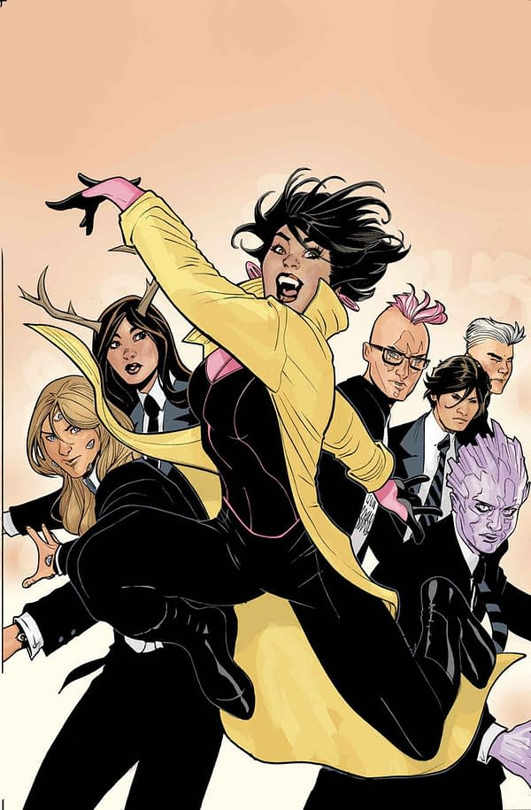 Generation X Cancelled with February's #87 at the End of Current Story Arc