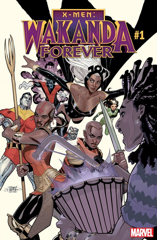 The Dora Milaje vs. the X-Men in X-Men: Wakanda Forever from Nnedi Okorafor