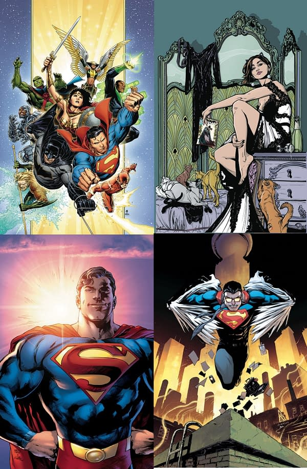 DC Comics Promoting Relaunches With In-Store Posters