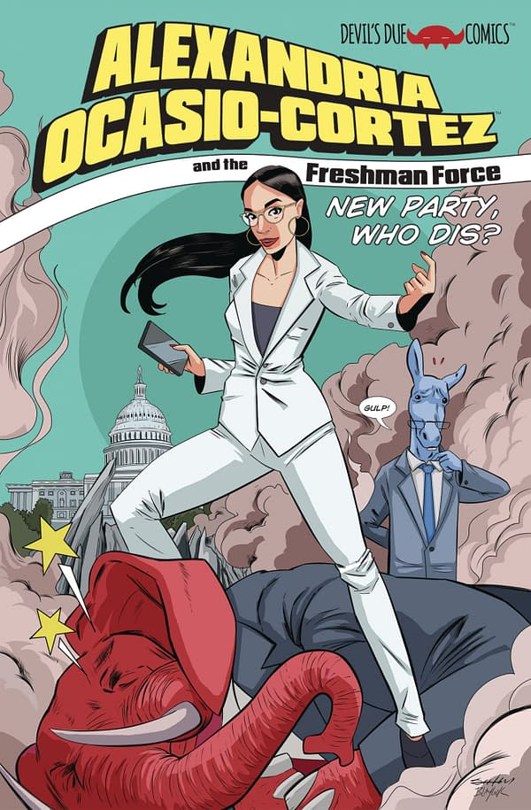 Alexandria Ocasio-Cortez Gets Her Own Superhero Comic by All-Star Creators