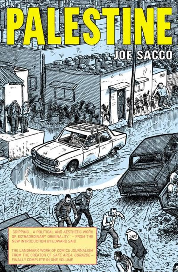 Joe Sacco On The Removal Of Palestine From His CBC Interview