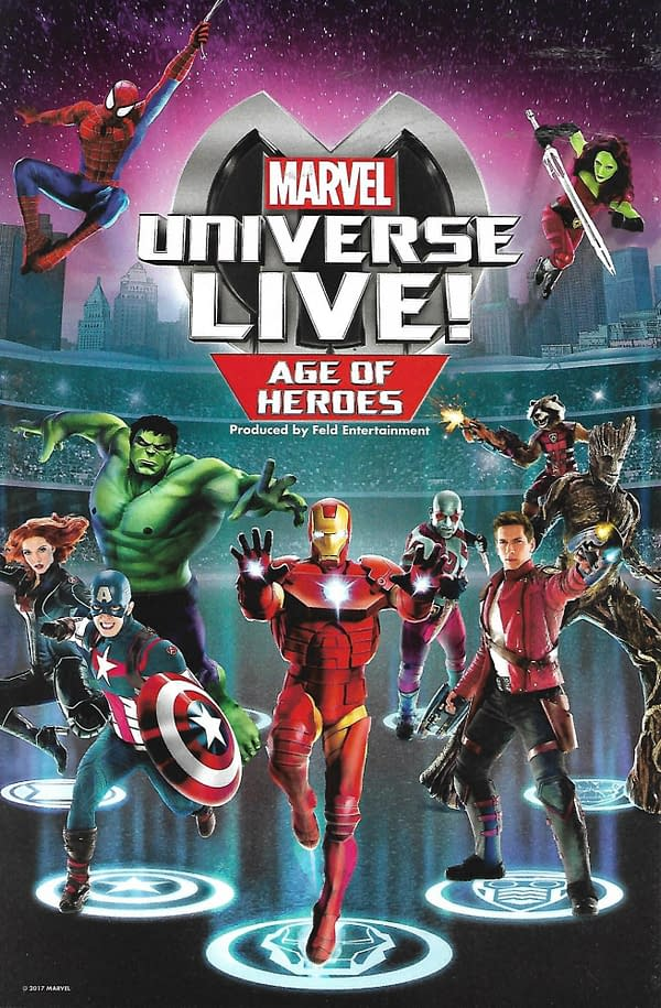 Marvel Universe LIVE! Age Of Heroes Prequel #2 Back Cover