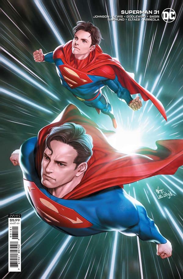 Cover image for SUPERMAN #31 CVR B INHYUK LEE CARD STOCK VAR