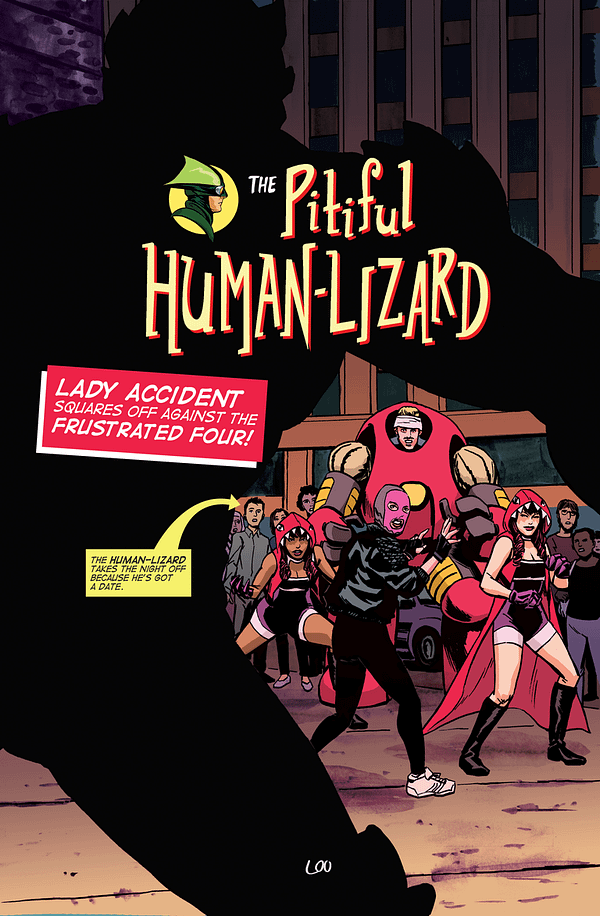 Hang On, Why Am I Being Asked To Preview Tomorrow's Pitiful Human Lizard #14?