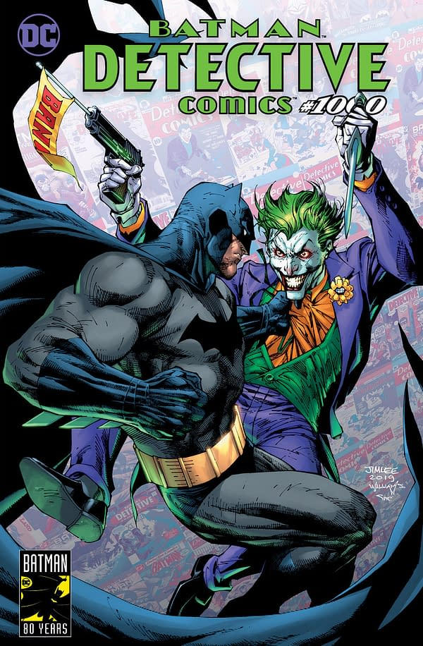 Graham Crackers Has Four Different Detective Comics #1000 Covers by Jim Lee