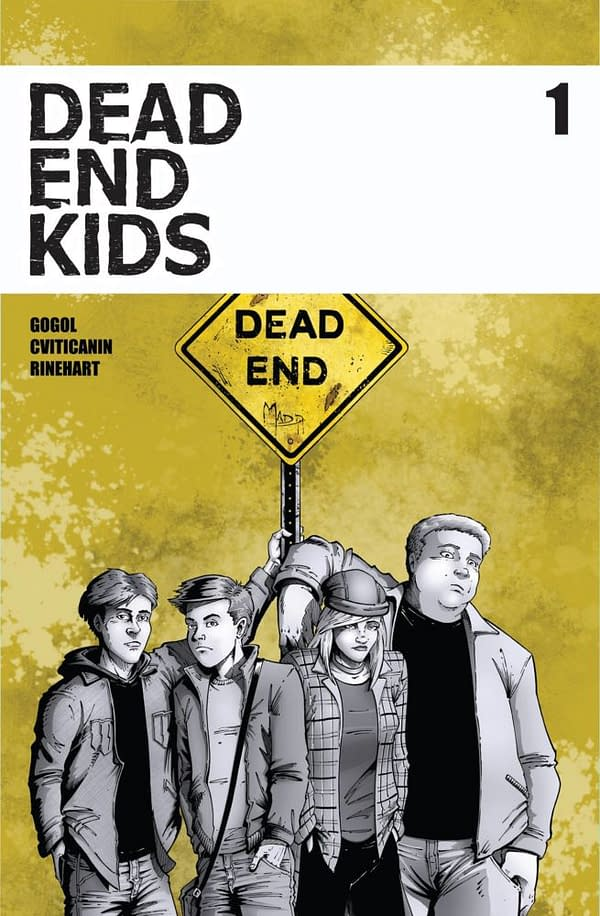 The 90s Were Murder – Dead End Kids Debuts at C2E2 Four Months Early
