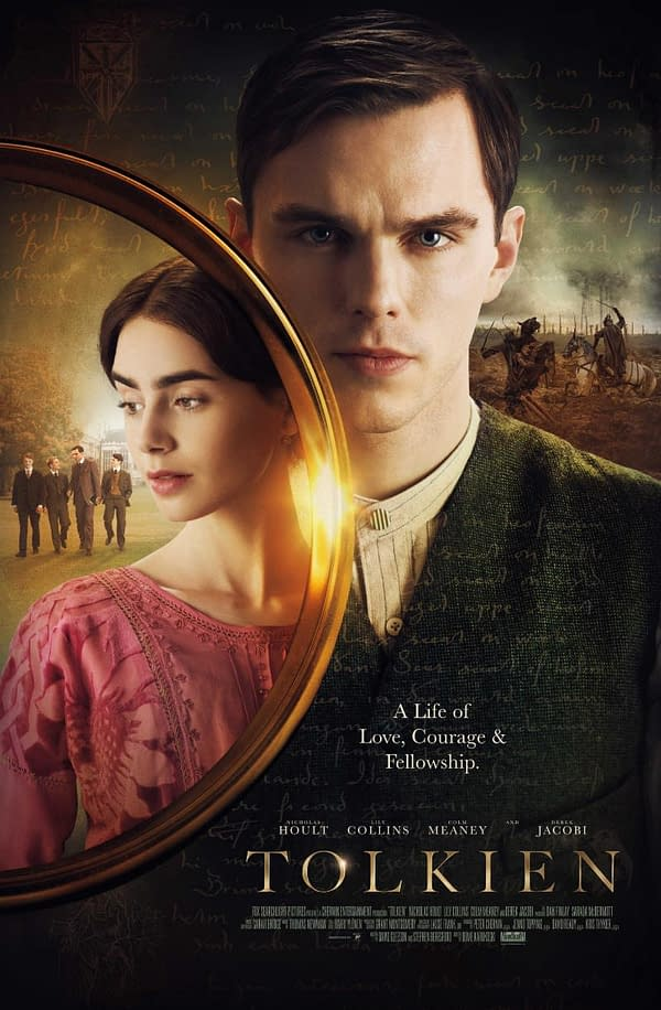 Nicholas Hoult, Lily Collins Chat 'Tolkien' and First Encountering Middle Earth