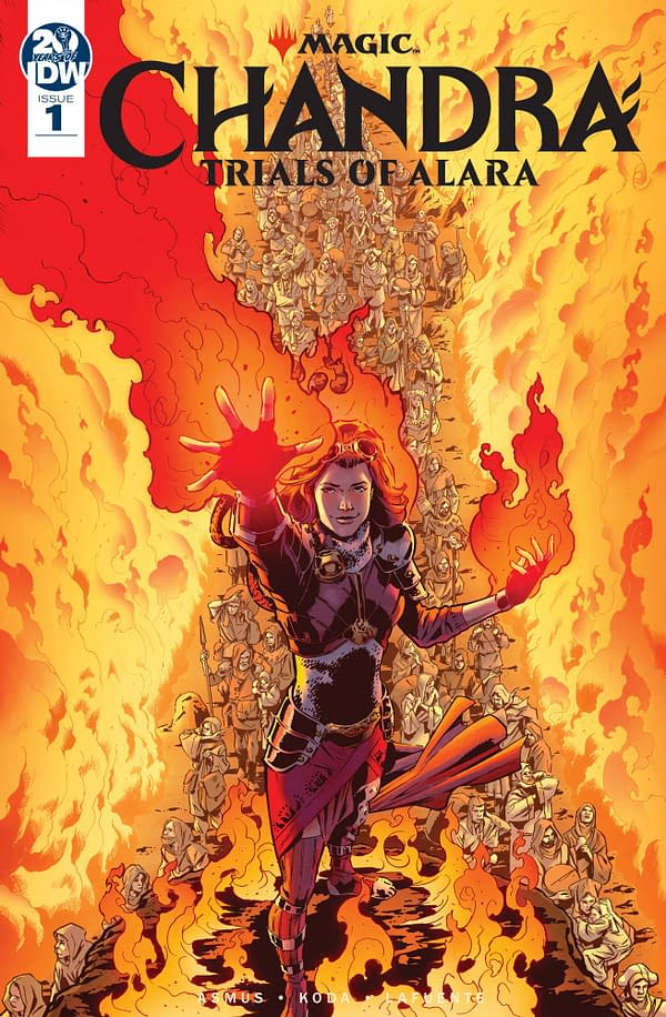 "IDW Cancels ""Magic The Gathering: Chandra: The Trials Of Alara"" Comic Before Publication"