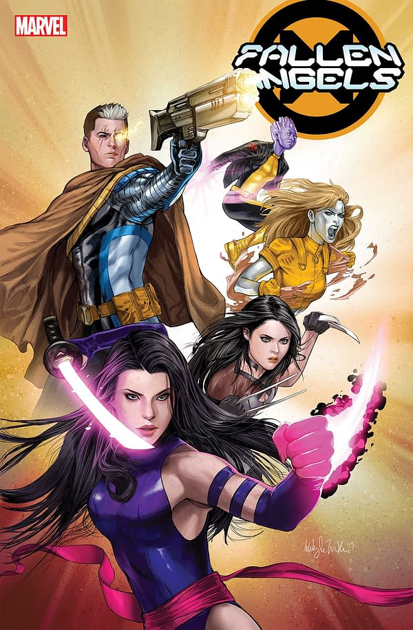 Why is Fallen Angels Missing from Marvel's February Solicitations?