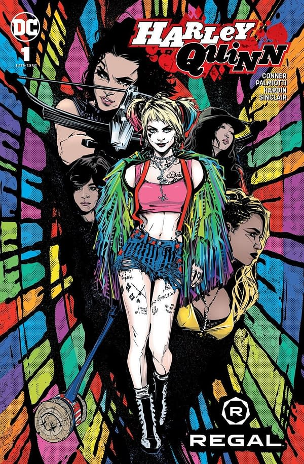 DC To Advertise Harley Quinn Comics on Cinema Screens