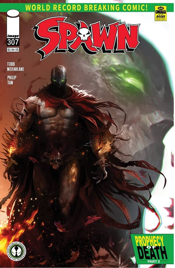 Spawn #307 Cover C