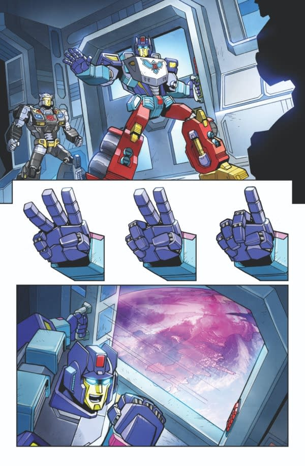 Transformers Wreckers—Tread & Circuits #1 Preview Page 01