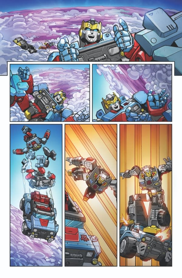 Transformers Wreckers—Tread & Circuits #1 Preview Page 03
