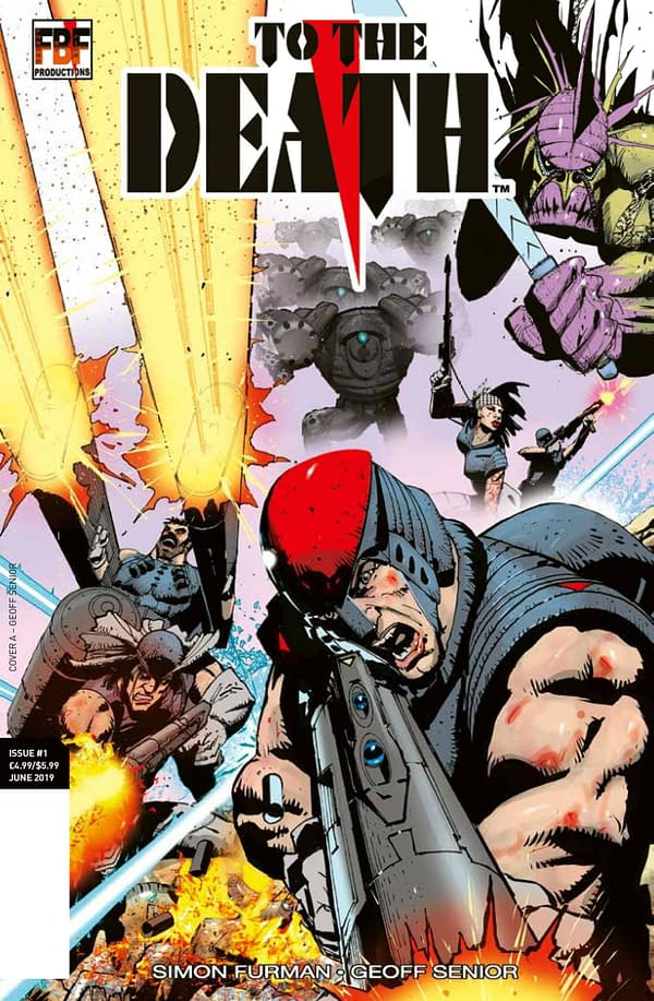Simon Furman and Geoff Senior's To The Death, Not Being Distributed by Diamond Comics